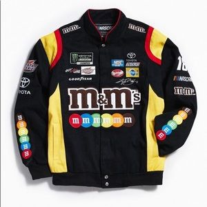 urban outfitters m&m's race jacket